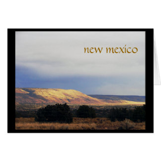la bajada mesa, new mexico card