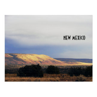 la bajada mesa, new mexico postcard