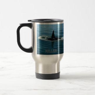 La ballena de la orca va taza