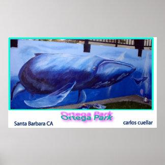la ballena póster