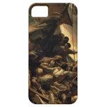 La balsa de la medusa - Théodore Géricault iPhone 5 Fundas