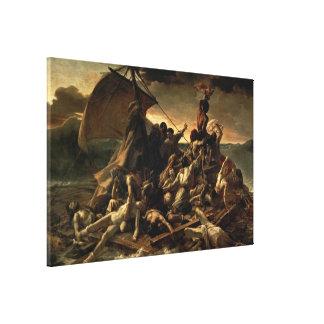 La balsa de la medusa - Théodore Géricault Impresión En Lona