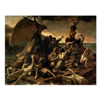 La balsa de la medusa - Théodore Géricault Postal