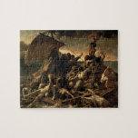 La balsa de la medusa - Théodore Géricault Rompecabezas
