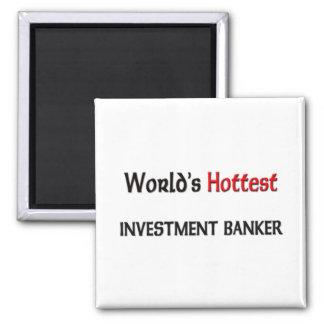 La banca de inversiones más caliente de los mundos imán cuadrado