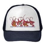 La banda de azules de los cangrejos gorras