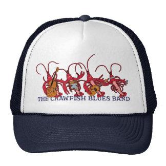 La banda de azules de los cangrejos gorros