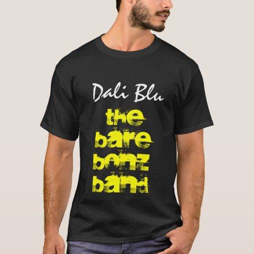 La banda de Barebonz, camiseta azul de Dali