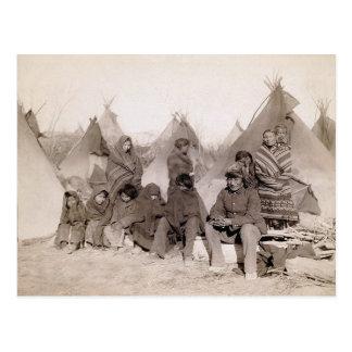 La banda de Bigfoot Tarjeta Postal