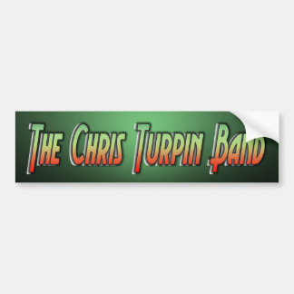 La banda de Chris Turpin Etiqueta De Parachoque