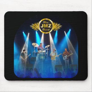 La banda de JMZ bajo luces Mousepad Alfombrillas De Ratón
