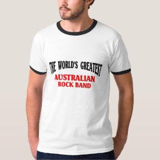 La banda de rock australiana más grande playeras