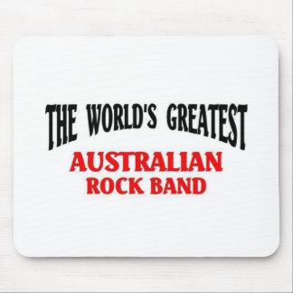 La banda de rock australiana más grande tapetes de ratón