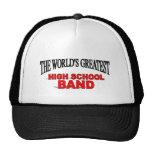 La banda escolar más grande del mundo gorra