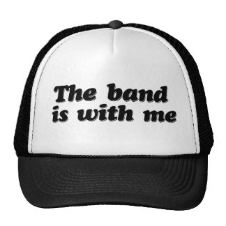 La banda está conmigo gorros