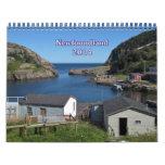 La banda imprime el calendario 2014 de Terranova