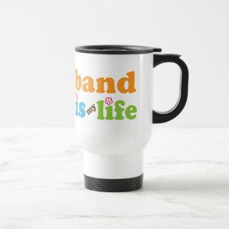 La banda linda es mi diseño de la vida taza térmica