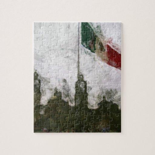 La Bandera 4 de la estafa del EL Zocalo del DF del Rompecabeza Con Fotos