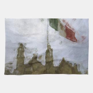 La Bandera 5.jpg de la estafa del EL Zocalo del DF Toalla