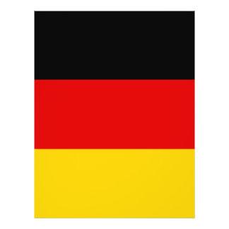 La bandera alemana más barata flyer personalizado