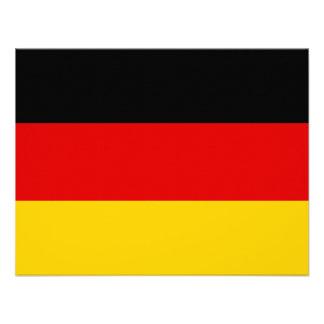 La bandera alemana más barata invitaciones personales