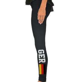 La bandera alemana se divierte las polainas el   G