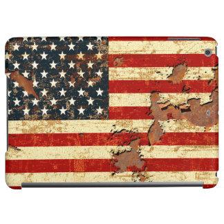 La bandera americana aherrumbró