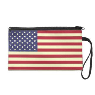 La bandera americana - barras y estrellas