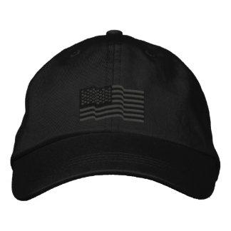La bandera americana de los E.E.U.U. protagoniza e Gorra De Beisbol Bordada