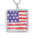 la bandera americana, Estados Unidos señala por me