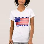 La bandera americana estos colores nunca funciona