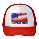 La bandera americana estos colores nunca funciona  gorro de camionero