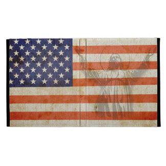 La bandera americana Jesús apenó la ensenada del