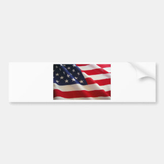 La bandera americana pegatina para auto