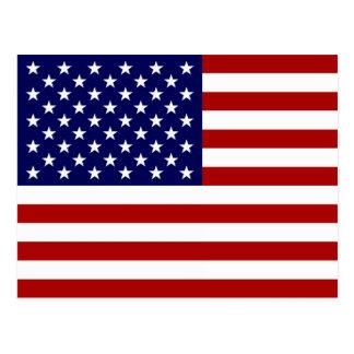 La bandera americana postales