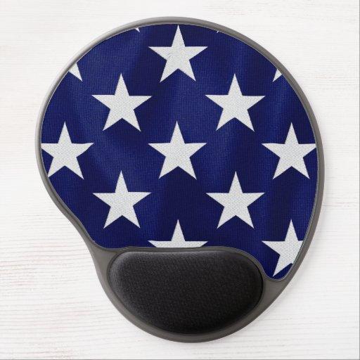 La bandera americana protagoniza el gel Mousepad Alfombrilla Con Gel