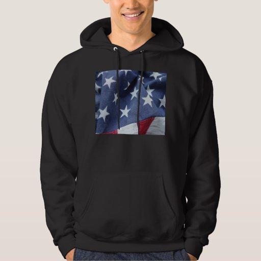 La bandera americana protagoniza la sudadera con