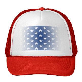 La bandera apenada de los E.E.U.U. protagoniza los Gorro De Camionero