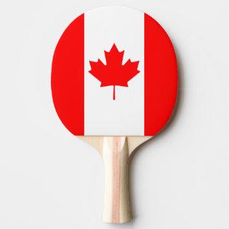 La bandera canadiense, Canadá Pala De Ping Pong