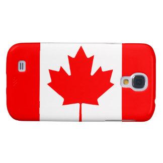 La bandera canadiense - recuerdo de Canadá Funda Para Galaxy S4
