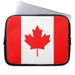 La bandera canadiense - recuerdo de Canadá Funda Ordendadores