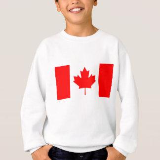 La bandera canadiense - recuerdo de Canadá Sudadera