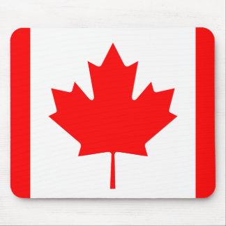 La bandera canadiense - recuerdo de Canadá Alfombrilla De Ratones
