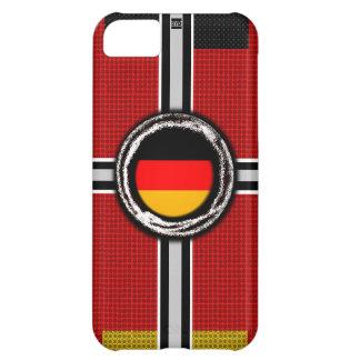 La bandera de Alemania graba en relieve la caja de