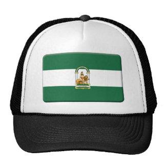 La bandera de Andalucía PERSONALIZA Gorro De Camionero