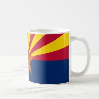La bandera de Arizona Taza