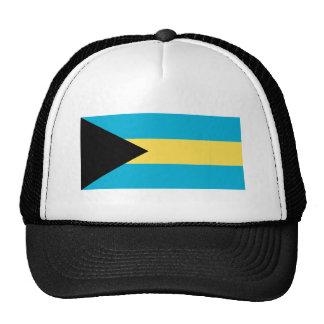 La bandera de Bahamas Gorro De Camionero