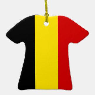 La bandera de Bélgica Adornos