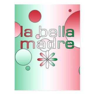 La bandera de Bella Madre Italia del La colorea Postales