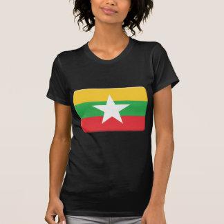 La bandera de Birmania PERSONALIZA Camisas